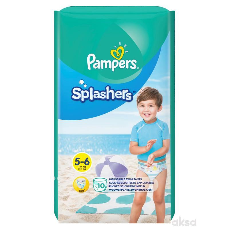 Pampers pelene za kupanje 5 junior 14+kg 10kom