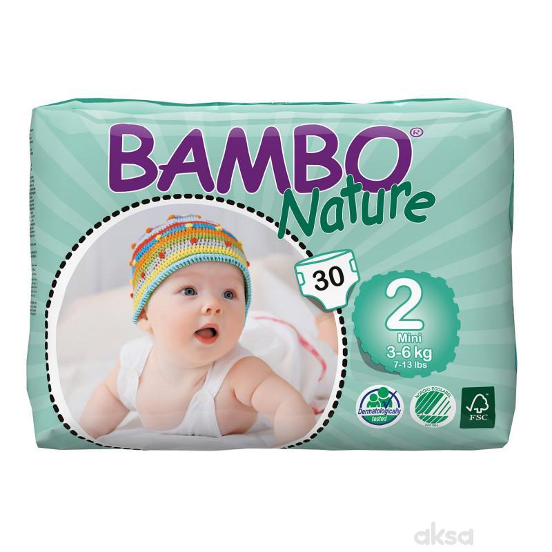 Bambo pelene 2 mini 3-6kg 30kom