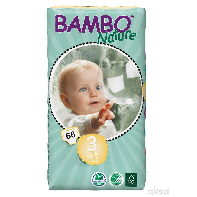 Bambo pelene JP 3 midi 5-9kg 66kom