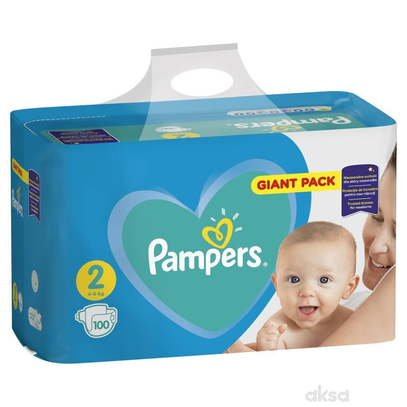 Pampers pelene GP 2 mini 4-8kg 100 kom