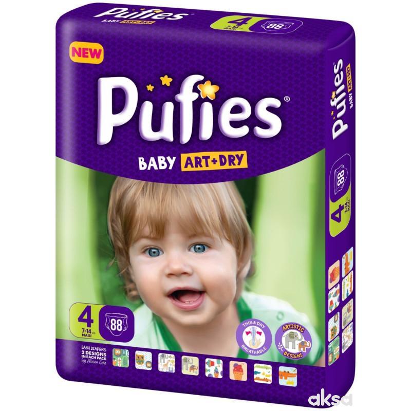 Pufies pelene baby art BP 4 maxi 7-14kg 88kom
