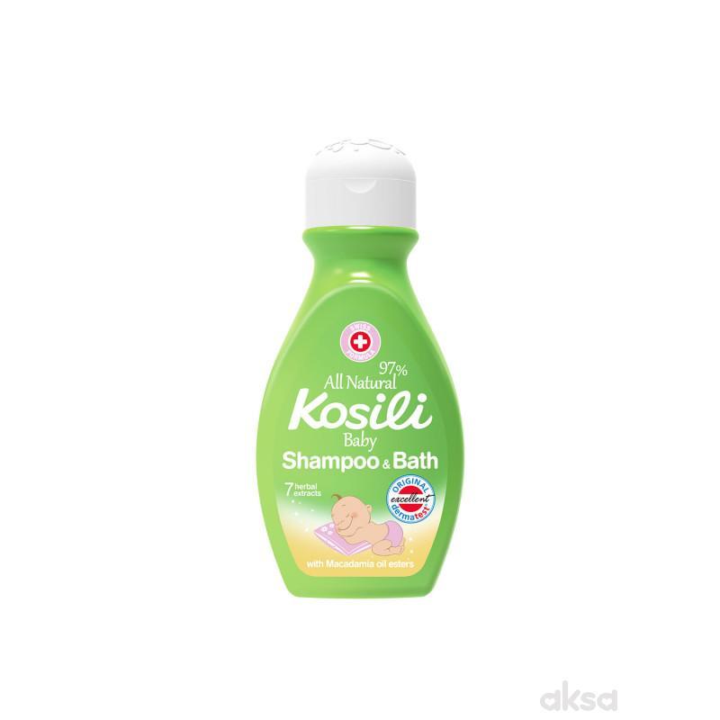 Kosili baby šampon i kupka all natural 200ml