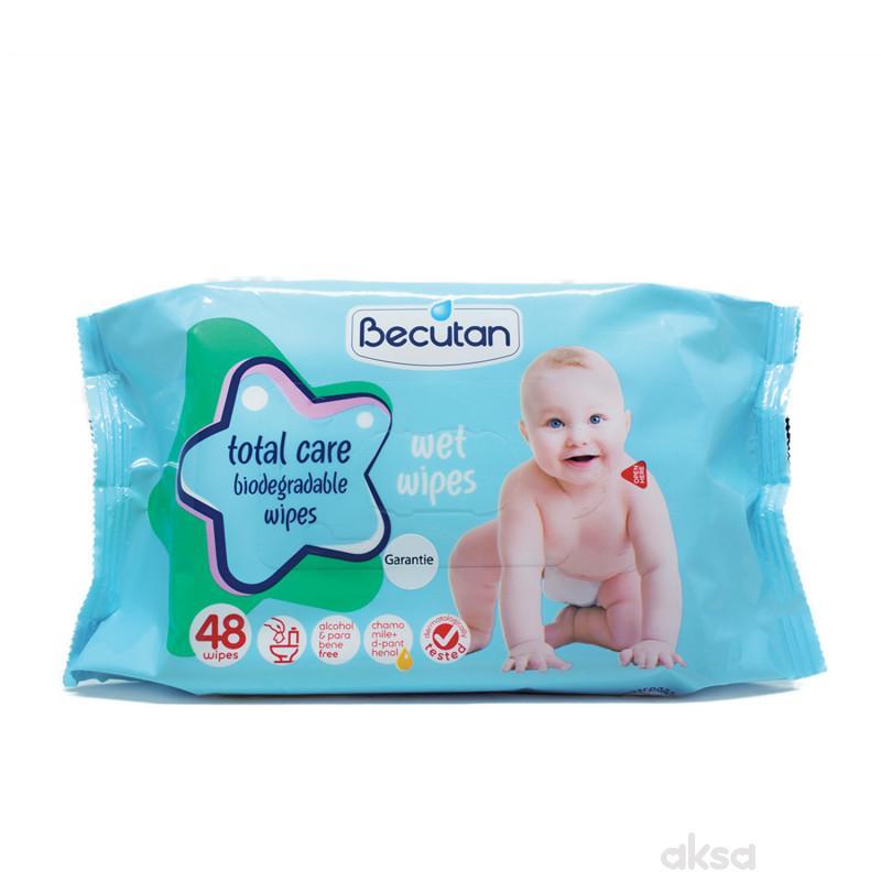 Becutan baby vlažne maramice biorazgadive 48 kom