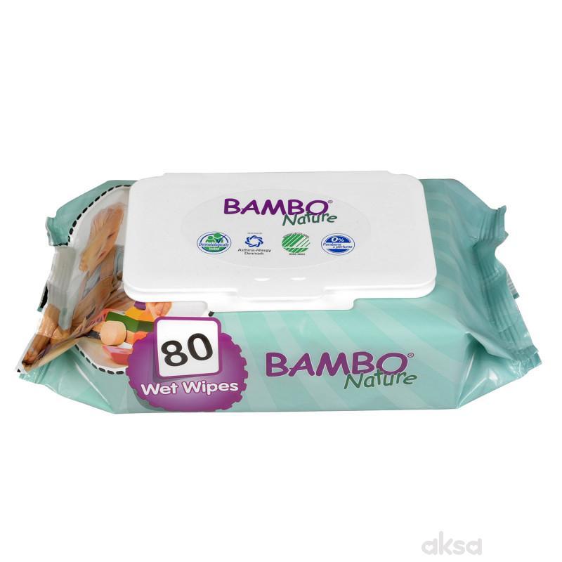 Bambo vlažne maramice 80kom