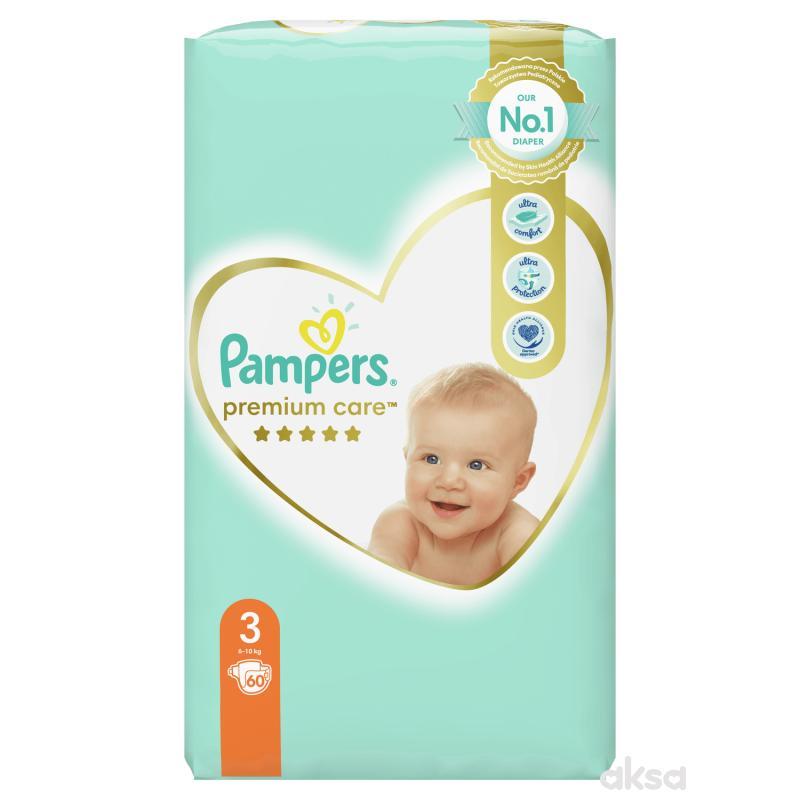 Pampers pelene premium VP 3 midi 6-10kg 60kom