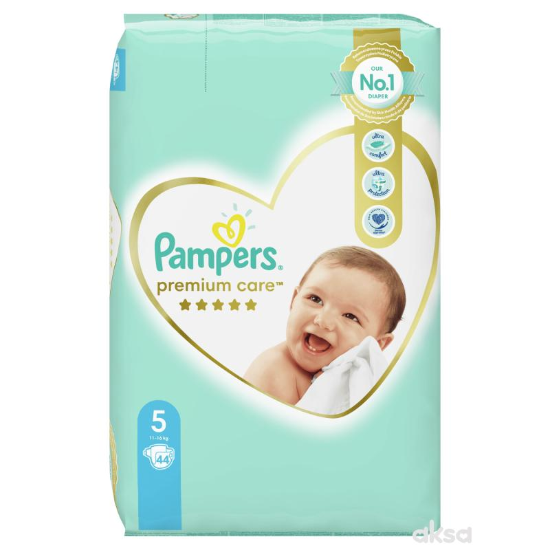 Pampers pelene premium VP 5 junior 11-16kg 44kom