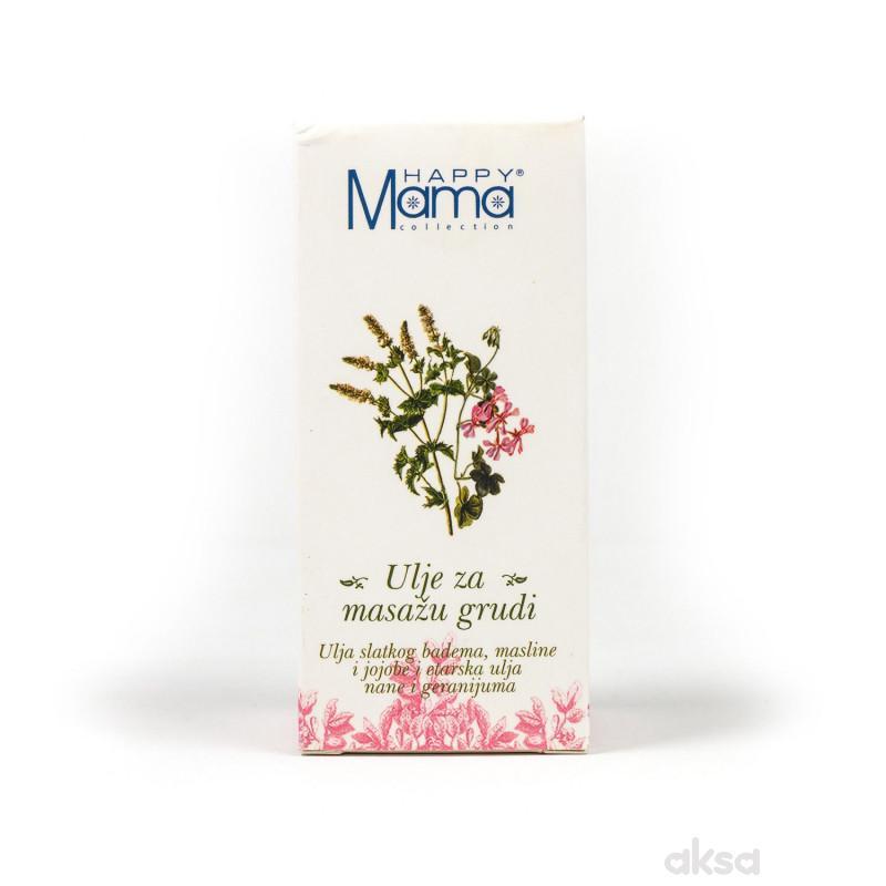 Happy mama ulje za masažu grudi 50ml