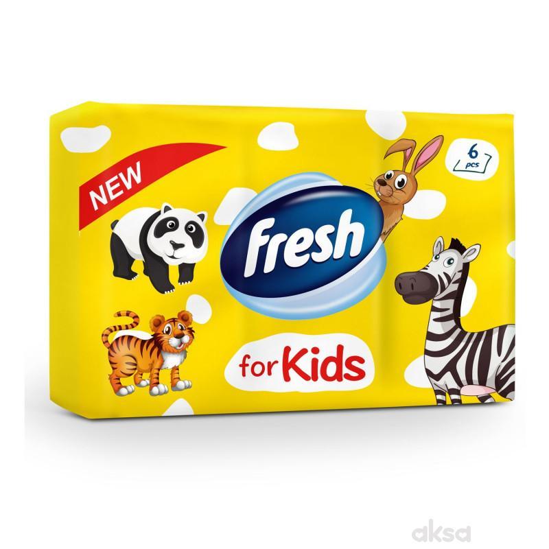 Fresh dečije papirne marammice 6x10kom
