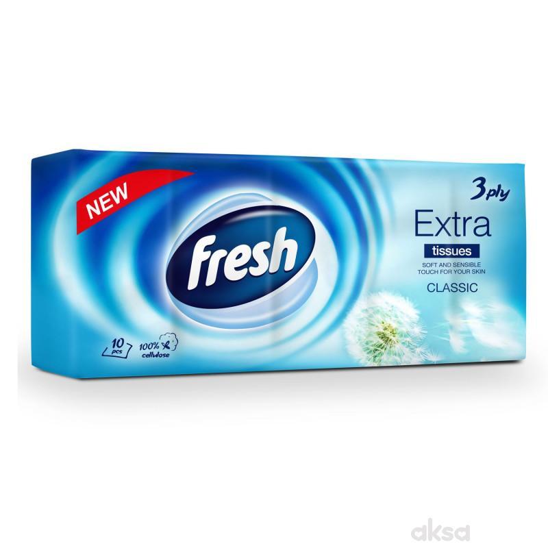 Fresh papirne maramice extra classic 10x10kom