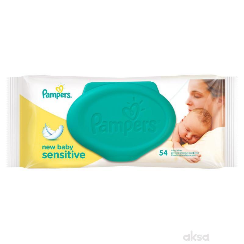 Pampers baby vlažne maramice sensitiv 54kom