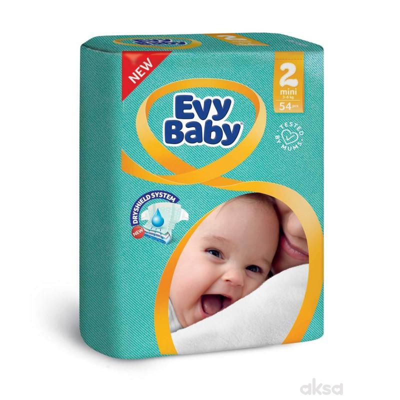 Evy baby pelene 2 mini 3-6kg 54kom