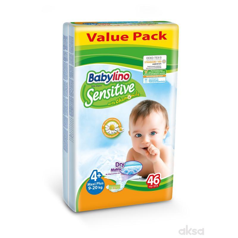 Babylino pelene sensitive VP 4+ maxi+ 9-20kg 46kom