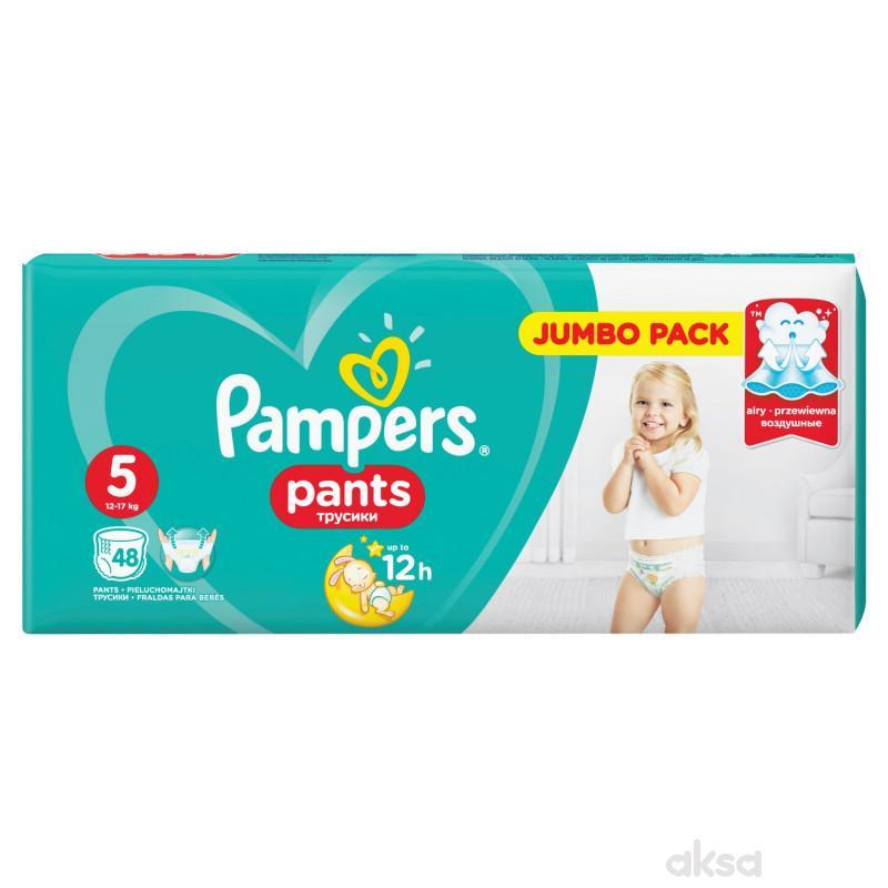 Pampers pants pelene JP 5 junior 12-18kg 48kom