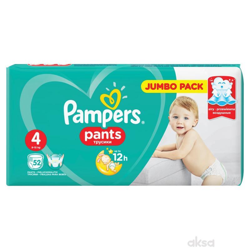 Pampers pants pelene JP 4 maxi 9-14kg 52kom