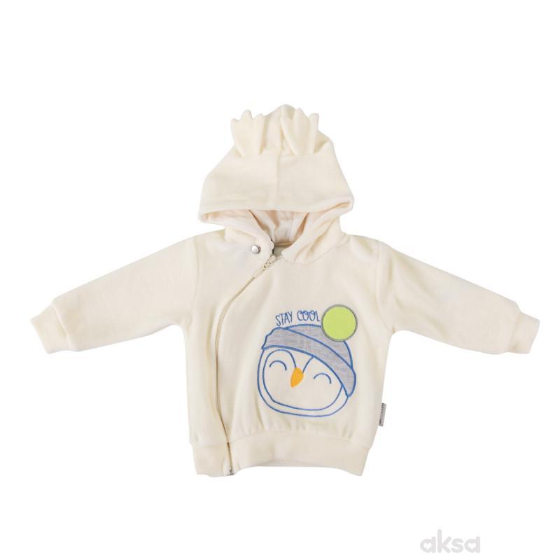 Lill&Pippo bebi jakna,dečaci,pliš