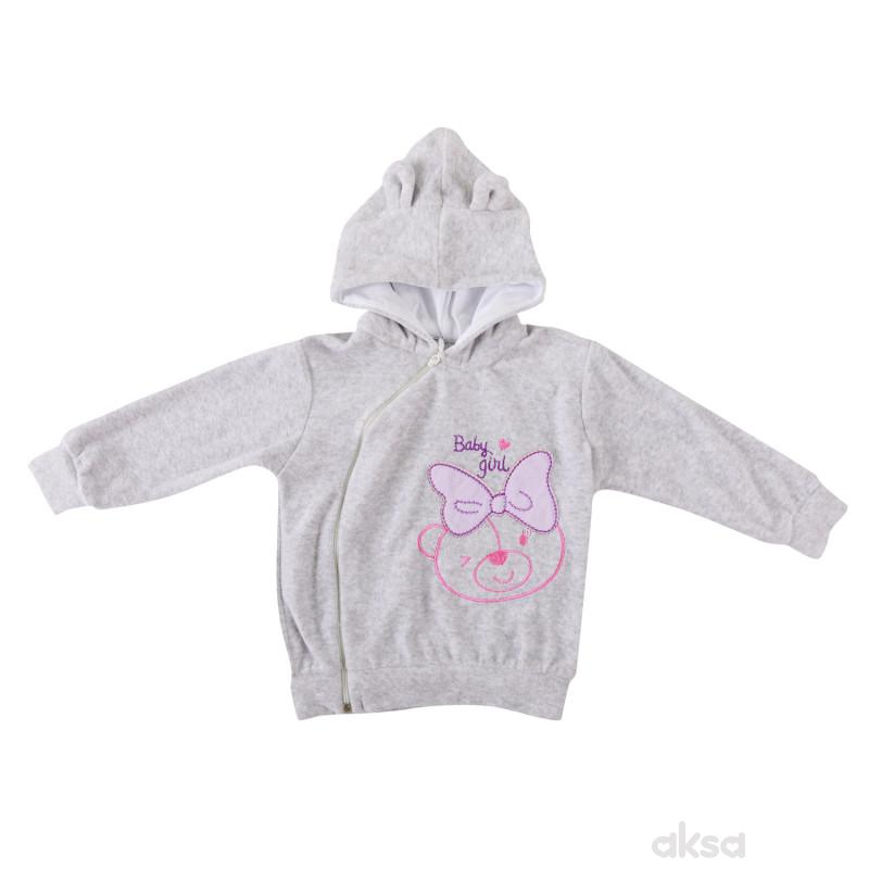 Lill&Pippo bebi jakna,devojčice,pliš