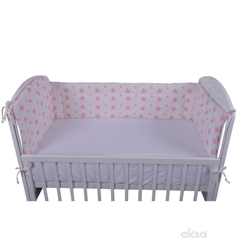 Lillo&Pippo ogradica za krevetac Zvezdice