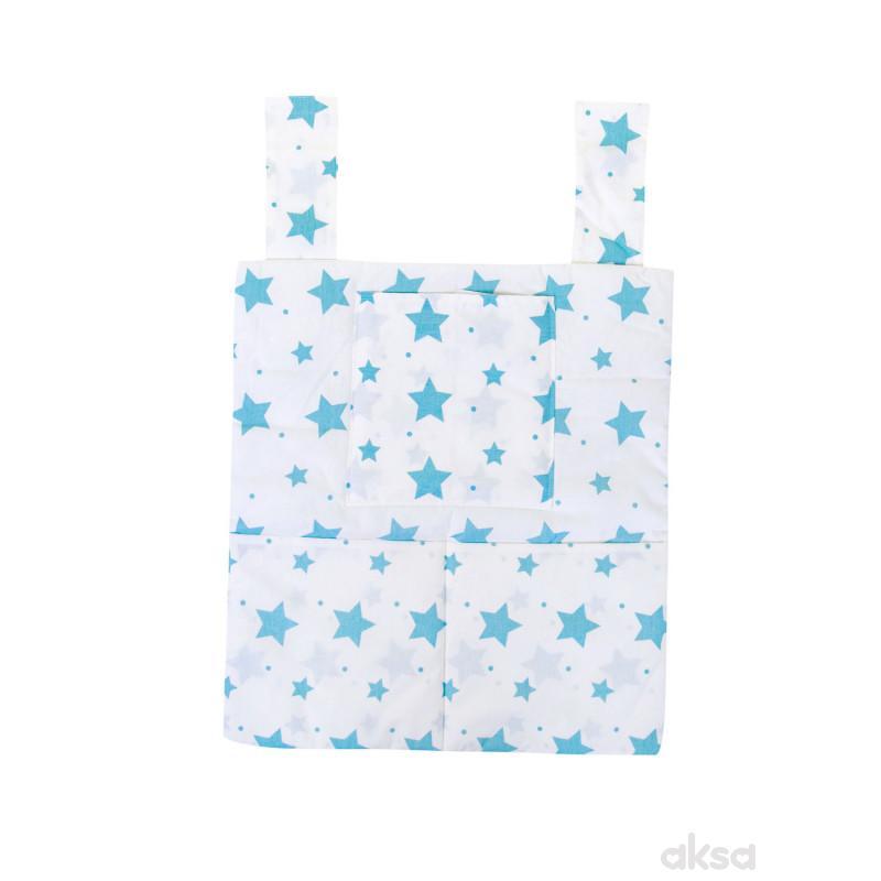 Lillo&Pippo neseser za krevetac Zvezdice