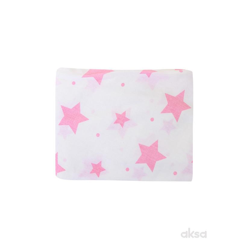 Lillo&Pippo jastučnica Zvezdice ,145X36CM