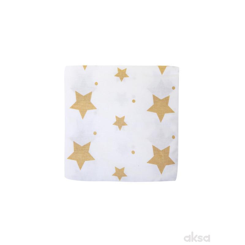 Lillo&Pippo čaršav, Zvezdice ,60X120CM