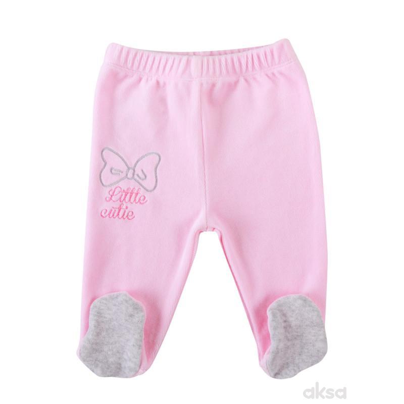 Lill&Pippo bebi pantalone,devojčice,pliš