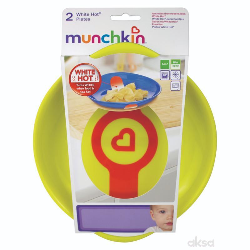 Munchkin termoosetljivi tanjiri, 2 komada