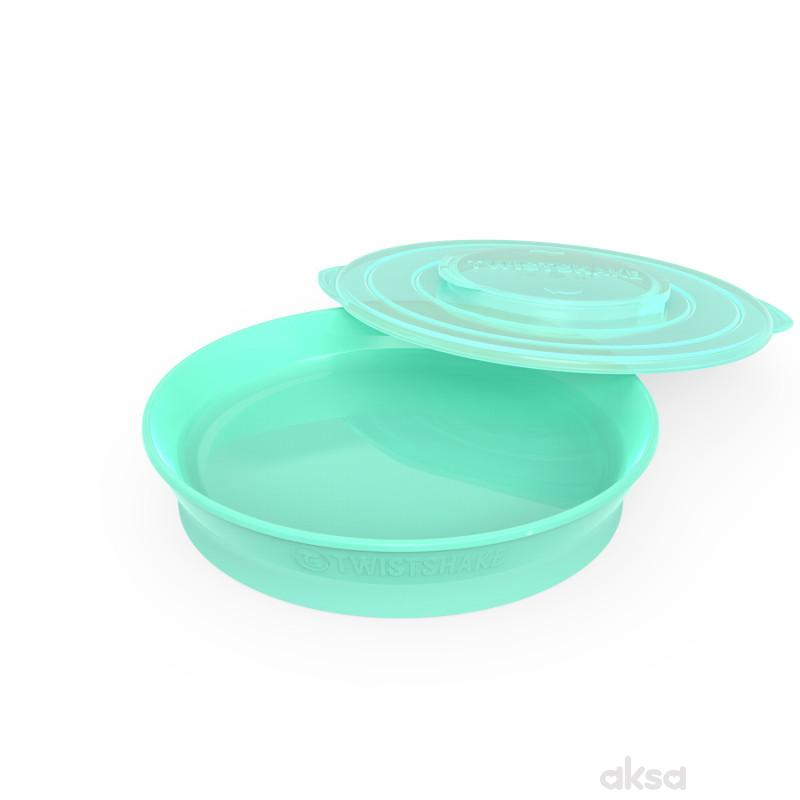 TS tanjir 6m+ pastelna zelena