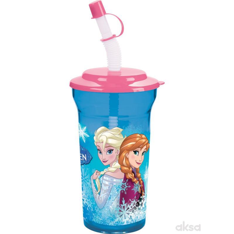 Trudeau čaša sa slamčicom i poklopcem Frozen 16