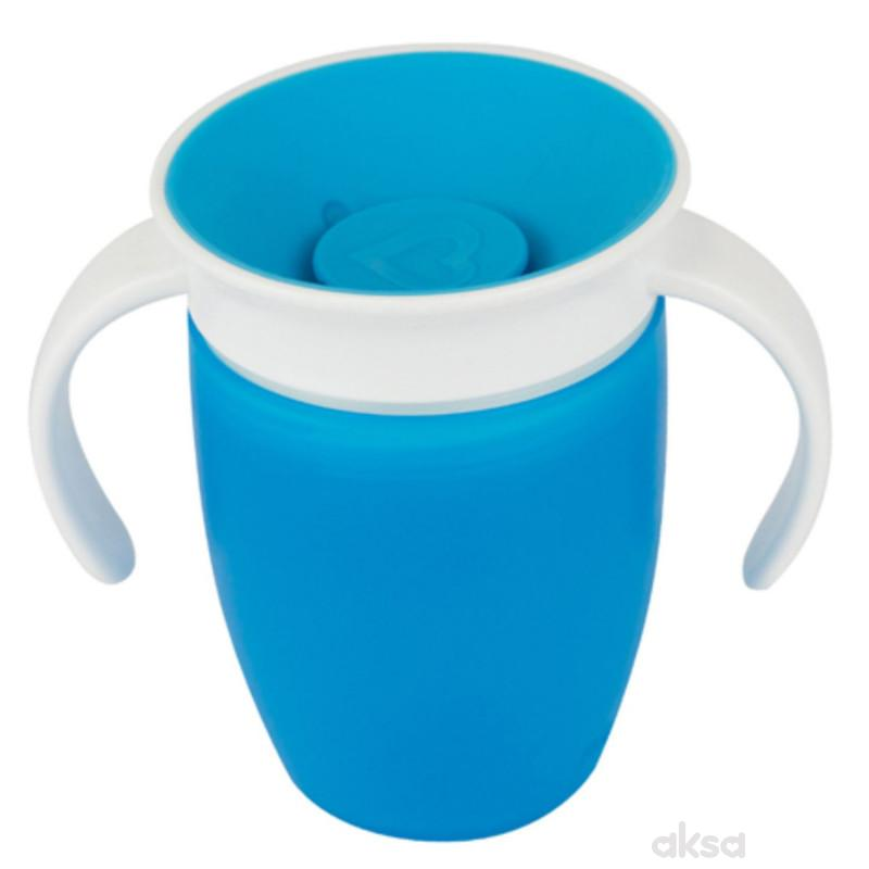 Munchkin čaša sa ručkama Miracle 360, 210ml, 6m+