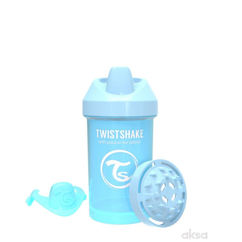 TS čaša Crawler cup 300ml 8m+ pastelna plava