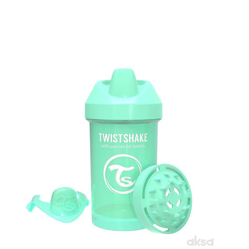 TS čaša Crawler cup 300ml 8m+ pastelna zelena