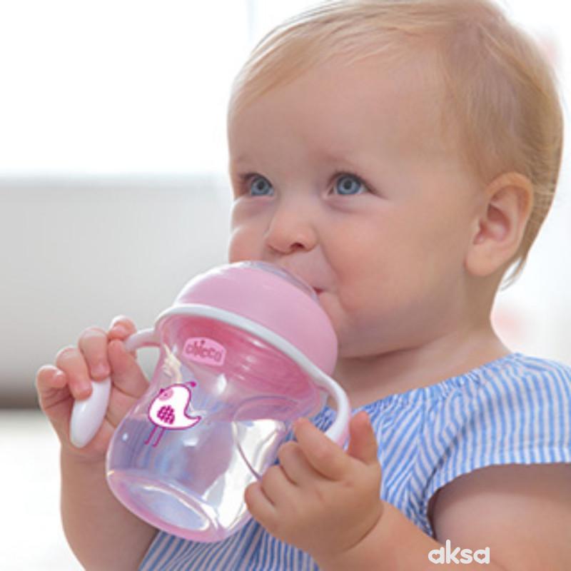 Chicco no spill čaša Transition 4+, devojčice
