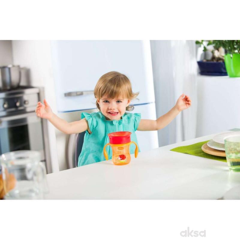 Chicco no spill čaša Perfect 360 stepeni, 12+