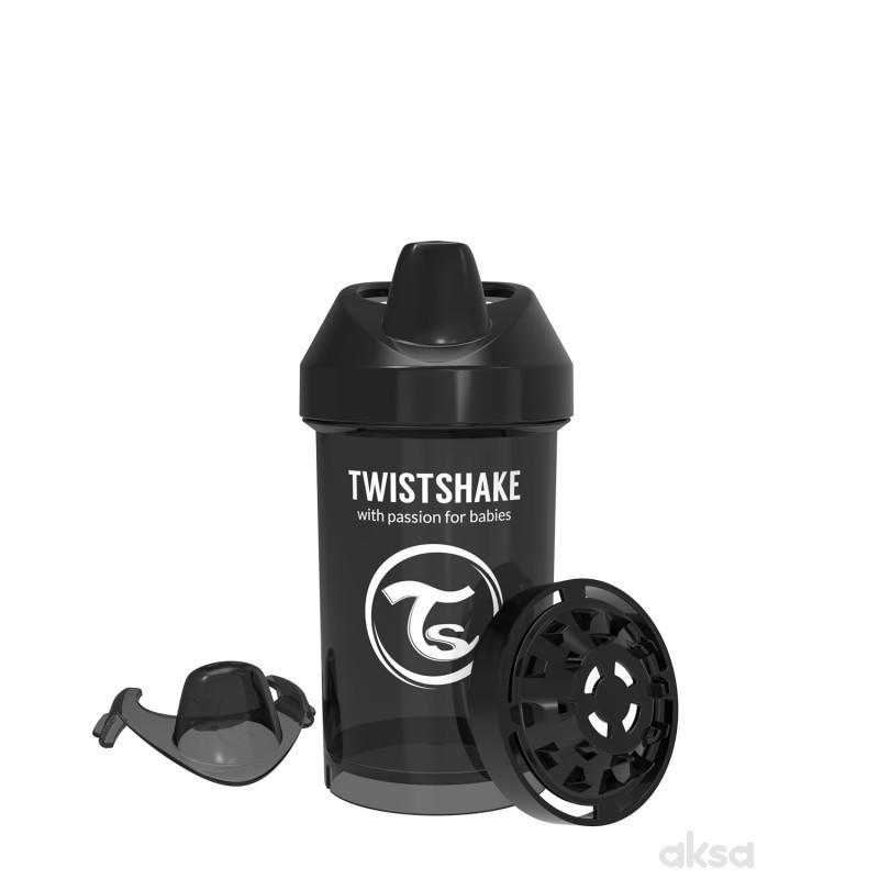 TS čaša Crawler cup 300ml 8m+ crna
