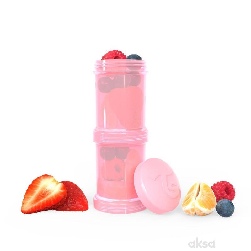 TS posuda za hranu 100ml pastelna roze, 2kom
