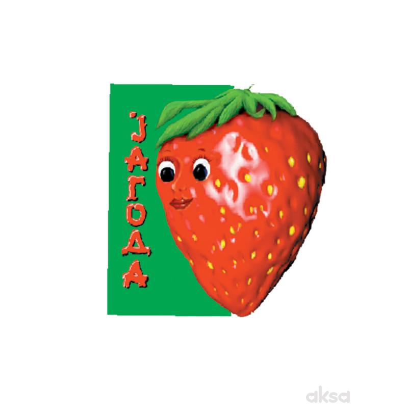 Pikom slikovnice voće - Jagoda