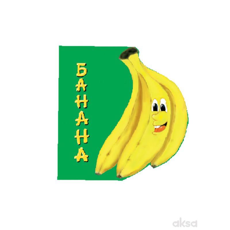 Pikom slikovnice voće - Banana