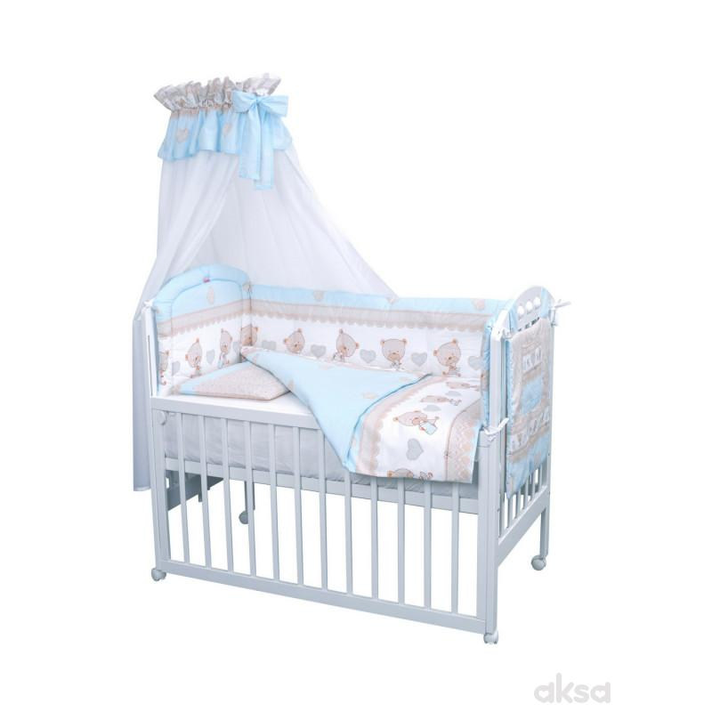 Baby Textil posteljina Baby bear 6/1,80x120CM
