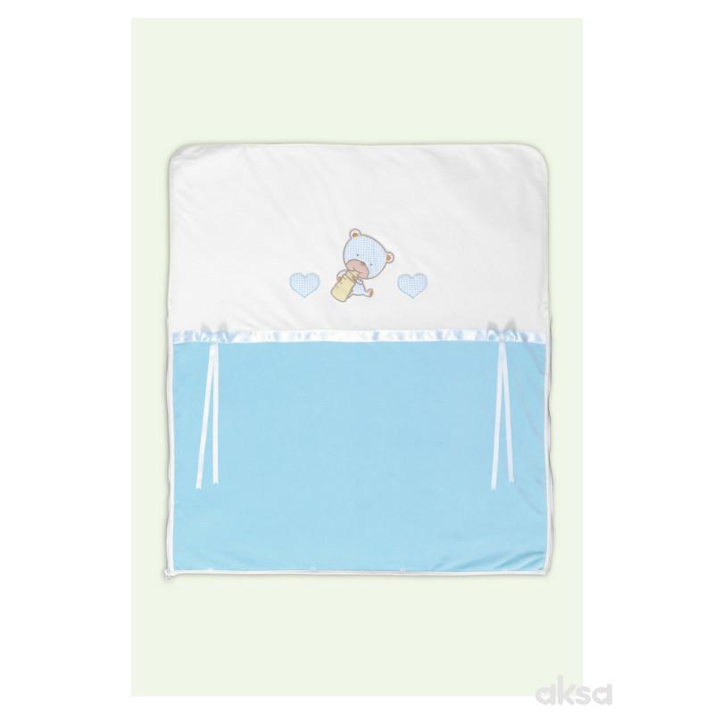 Baby Textil prekrivač-vreća 2u1,na driker,pliš