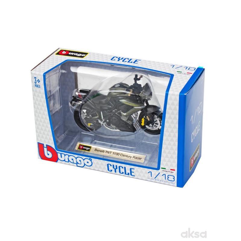 Burago motocikli 1:18