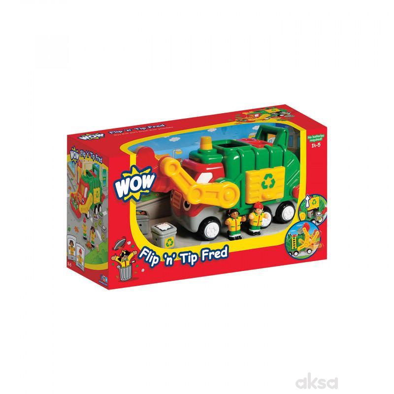 Wow igračka đubretarac Flip n Tip Fred