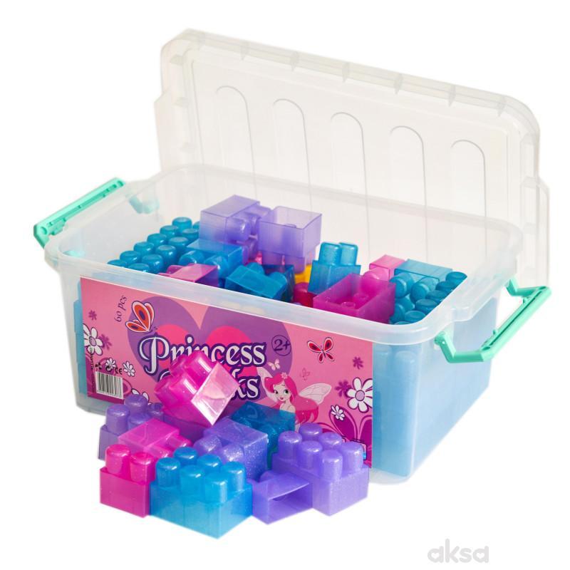 Princess Blocks kocke 60 kom