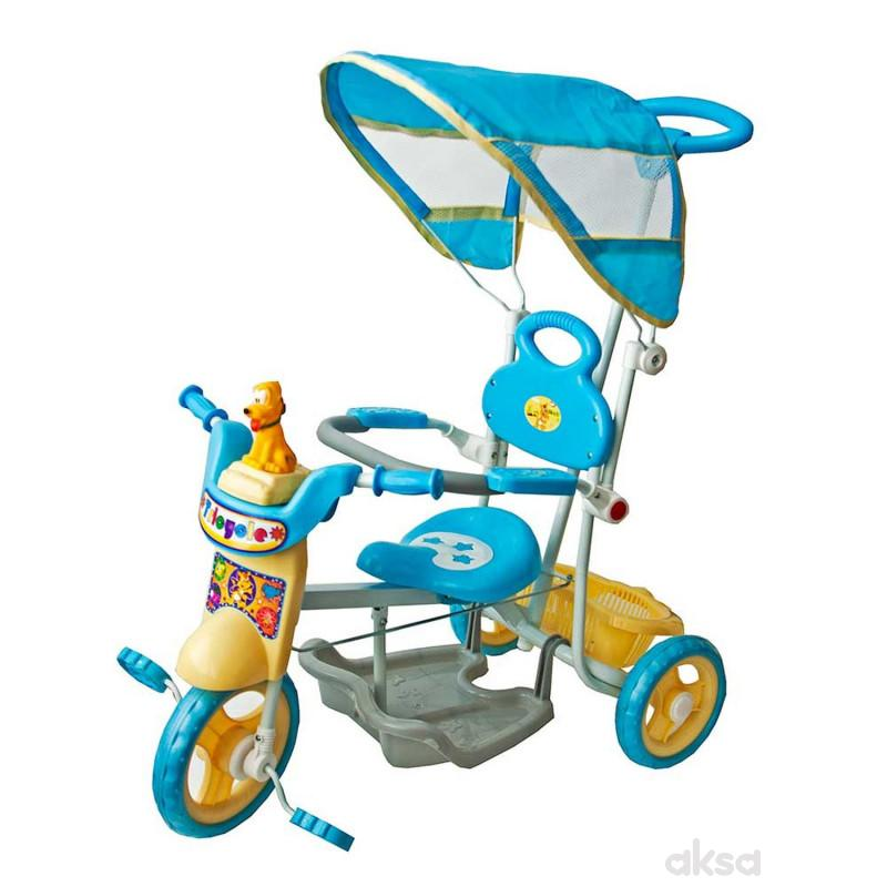 Tricikl plavi