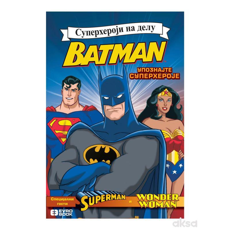 Evro book superheroji na delu