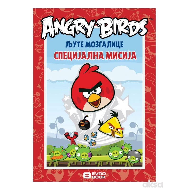 Evro book Ljute mozgalice Angry birds