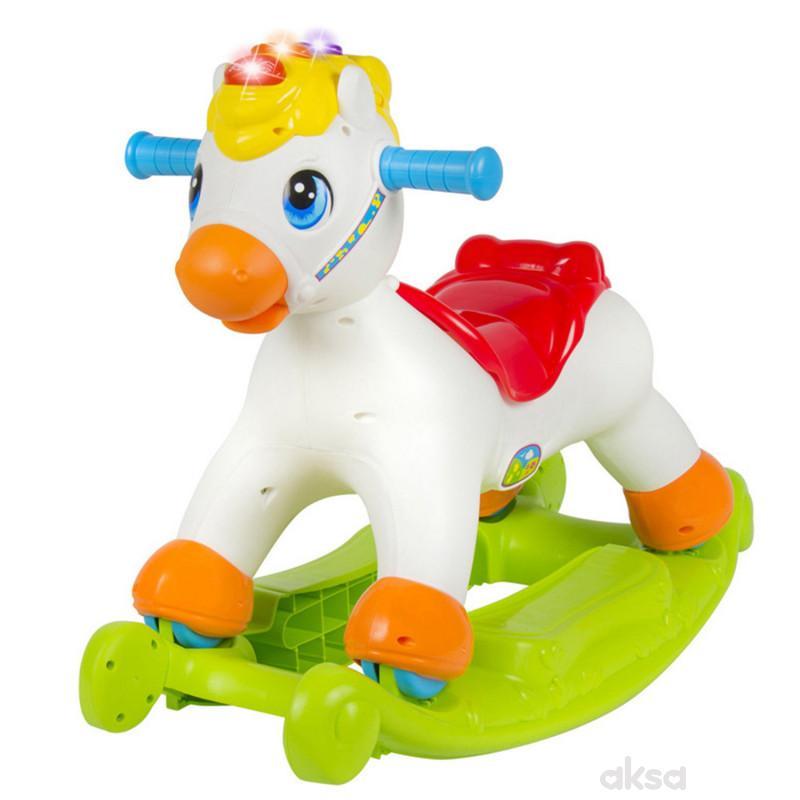 Huile toys, igračka , konjić njihalica