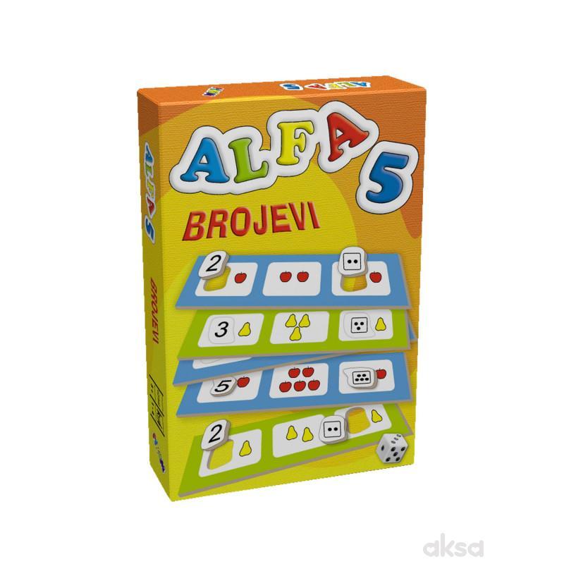 Pikom didaktička igra ALFA 5 - Brojevi
