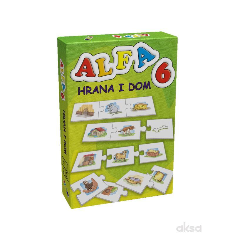 Pikom didaktička igra ALFA 6 - Hrana i dom