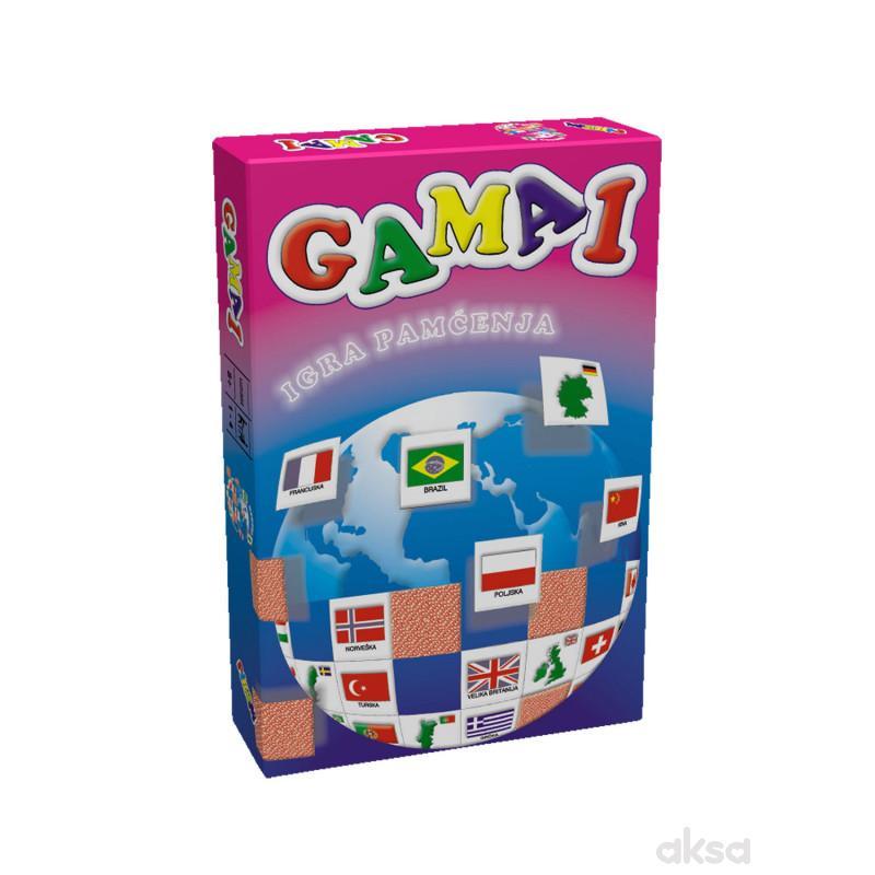 Pikom didaktička igra GAMA 1 - Igra pamćenja