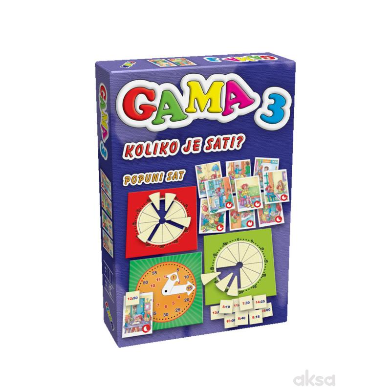 Pikom didaktička igra GAMA 3 - Koliko je sati